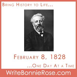 Timeline Worksheet February 8, 1828, Jules Verne