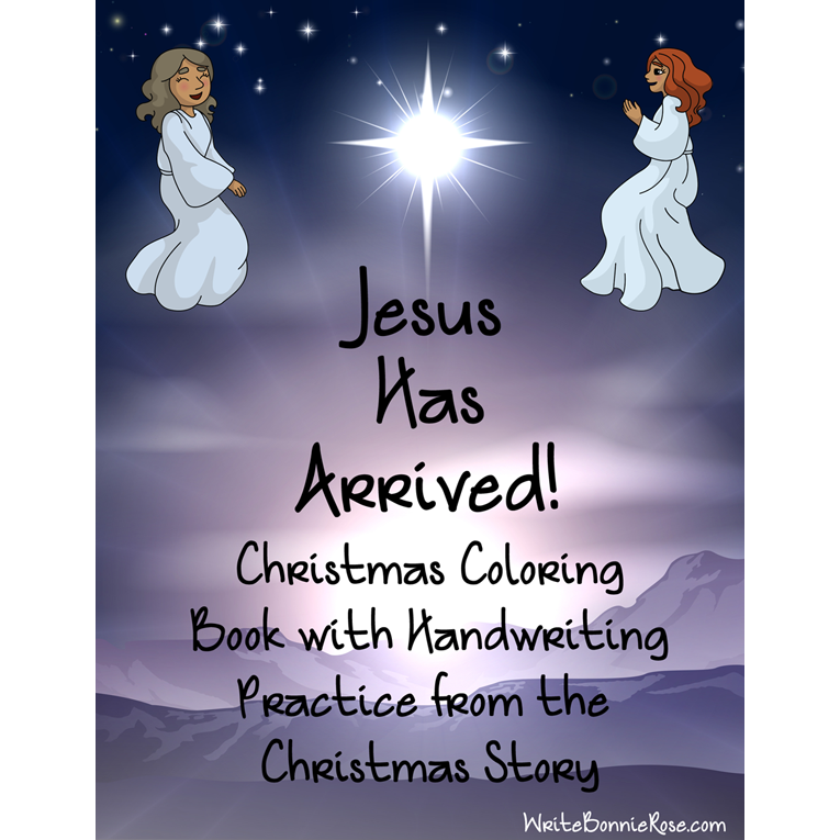 Jesus Has Arrived! Christmas Story Coloring Book (e-book)