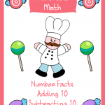 FREE Elementary Math Worksheets: Munchable Math Candy