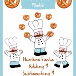 Free Elementary Math Worksheets: Munchable Math-Pretzels