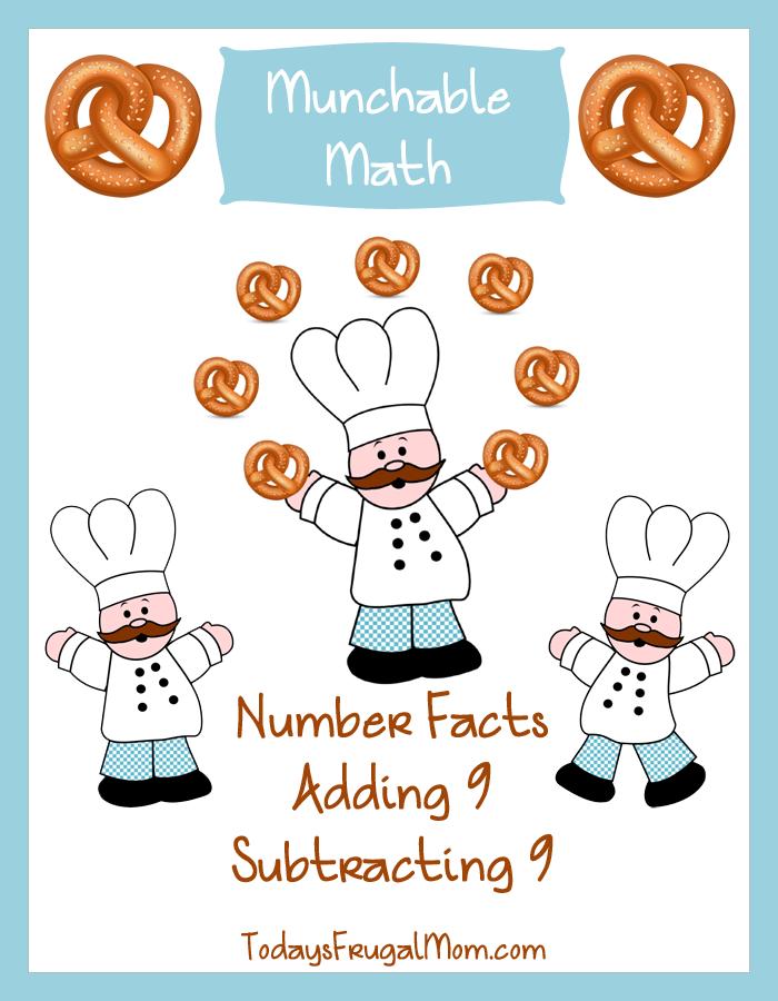 Free Printable Elementary Math Worksheets : Free elementary math worksheets munchable pretzels