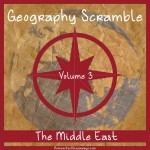 Geography Scramble-The Middle East