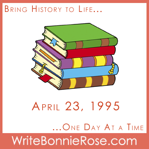 Timeline Worksheet April 23, 1996, World Book and Copyright Day