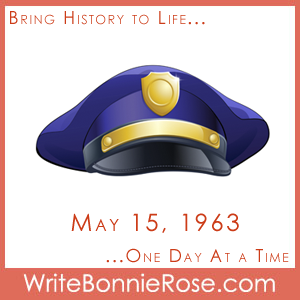Timeline Worksheet, May 15, 1963, Peace Officers Memorial Day