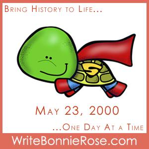 Timeline Worksheet, May 23, 2000, World Turtle Day