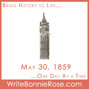 Timeline Worksheet, May 30, 1859, Big Ben