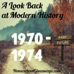 A Look Back at Modern History Unit 2: 1970-1974