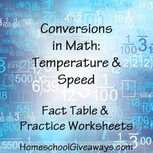 Conversions-in-Math-Temperature-and-Speed
