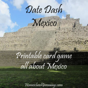 Date Dash Mexican History Card Game