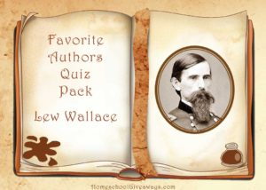 Free Favorite Authors Quiz Pack-Lew Wallace