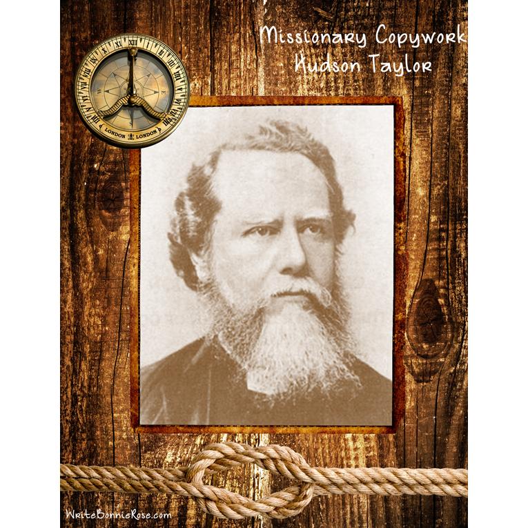 Missionary Copywork: Hudson Taylor (e-book)