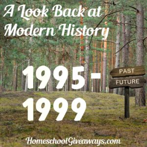 A Look Back at Modern History Unit 7: 1995-1999