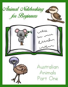 Animal Notebooking for Beginners - Australian Animals Pt. 1