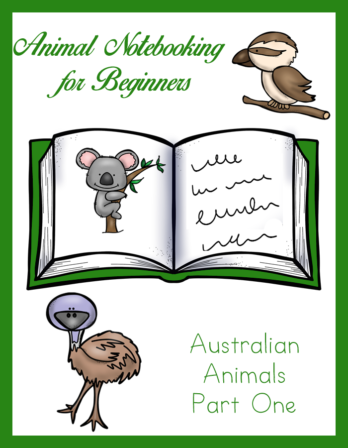 Animal Notebooking for Beginners – Australia, Pt. 1