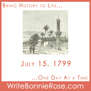 July 15, 1799, Rosetta Stone