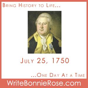 July 25, 1750, Henry Knox
