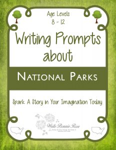 Writing Prompts National Parks
