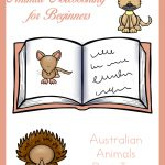 Animal Notebooking for Beginners, Australian Animals Part Two