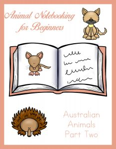 Animal Notebooking for Beginners - Australian Animals Pt. 2