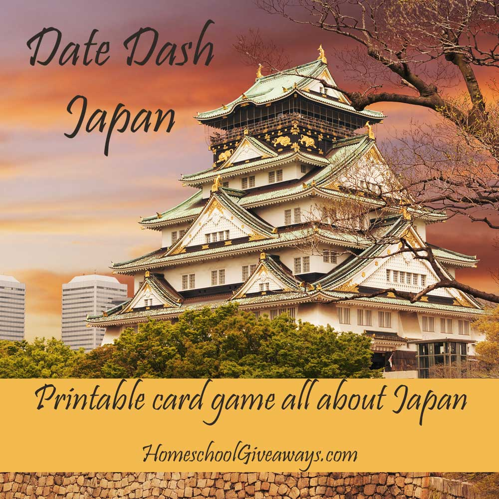Date Dash Japanese History Card