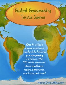 Global Geography Trivia Game