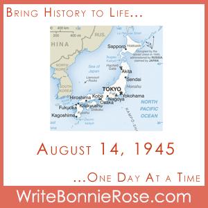 Timeline Worksheet, August 14, 1945, VJ Day