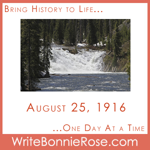 Timeline Worksheet, August 25, 1916, National Park Service Centennial