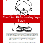 FREE Men of the Bible Coloring Page – Joseph