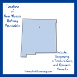 FREE New Mexico State History Printable