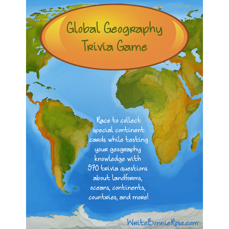 Global Geography Quiz Game (e-book)