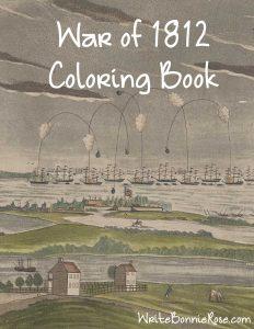 War of 1812 Coloring Book