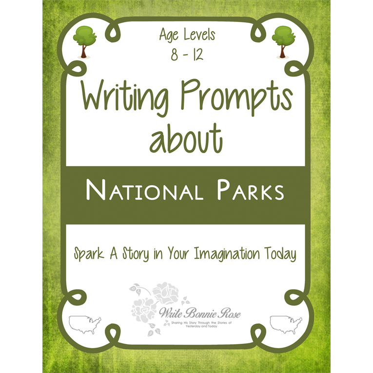 Writing Prompts About National Parks (e-book)