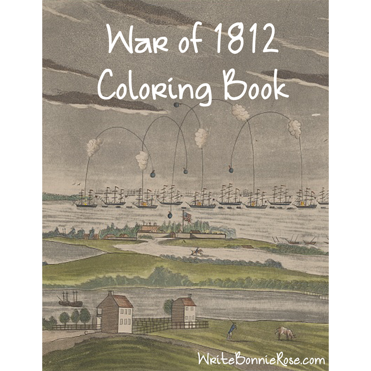 War of 1812 Coloring Book (e-book)