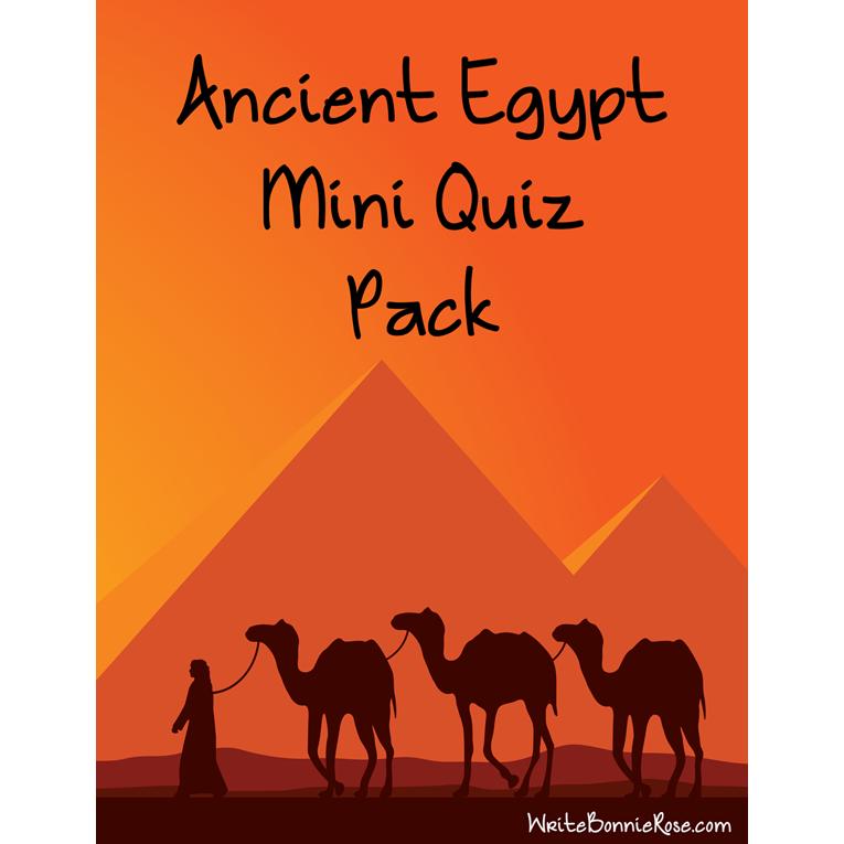Ancient Egypt Mini Quiz Pack (e-book)