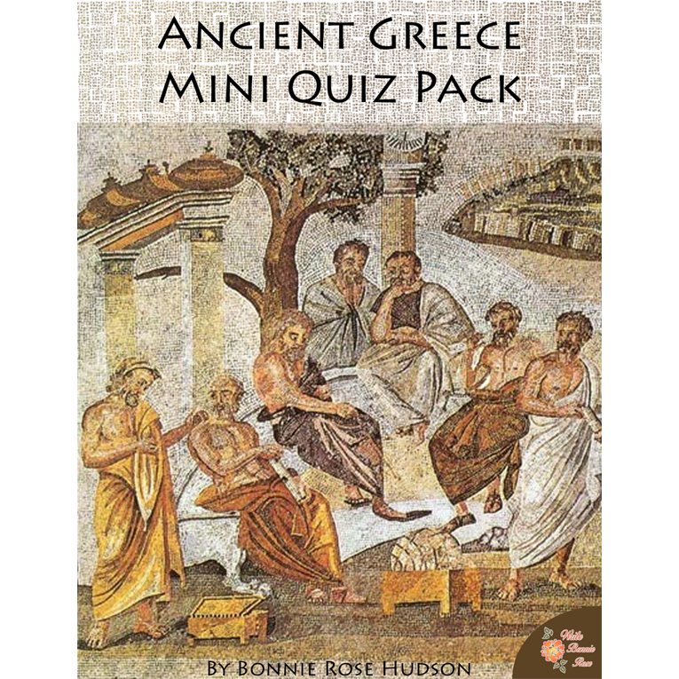 Ancient Greece Mini Quiz Pack (e-book)