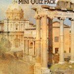 Ancient Rome Mini Quiz Pack