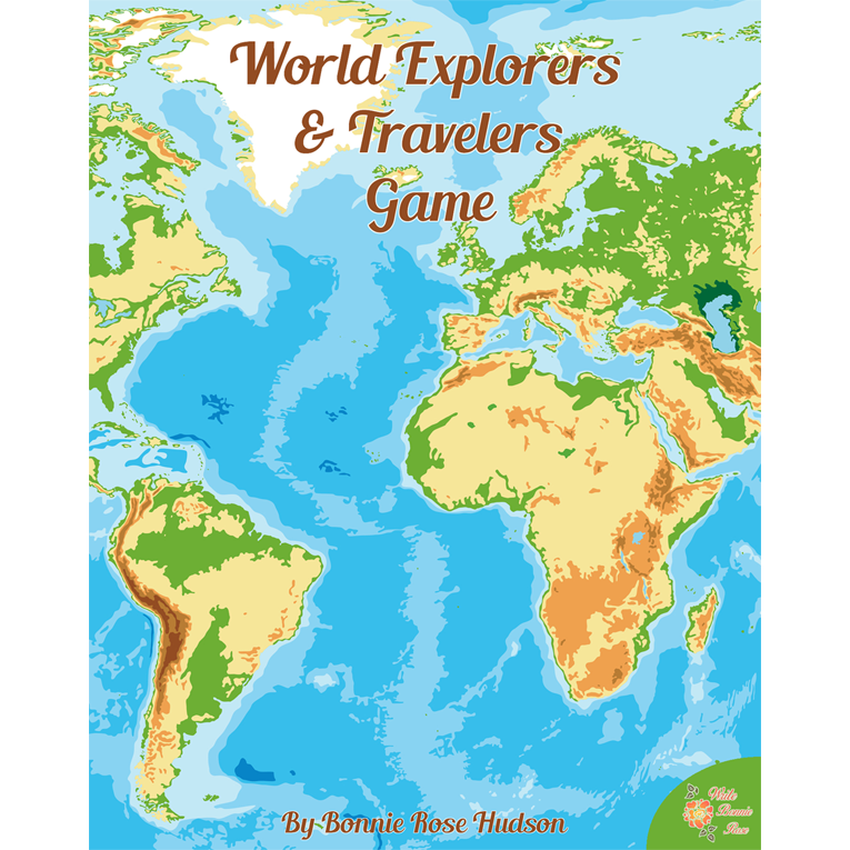 World Explorers and Travelers Game (e-book)