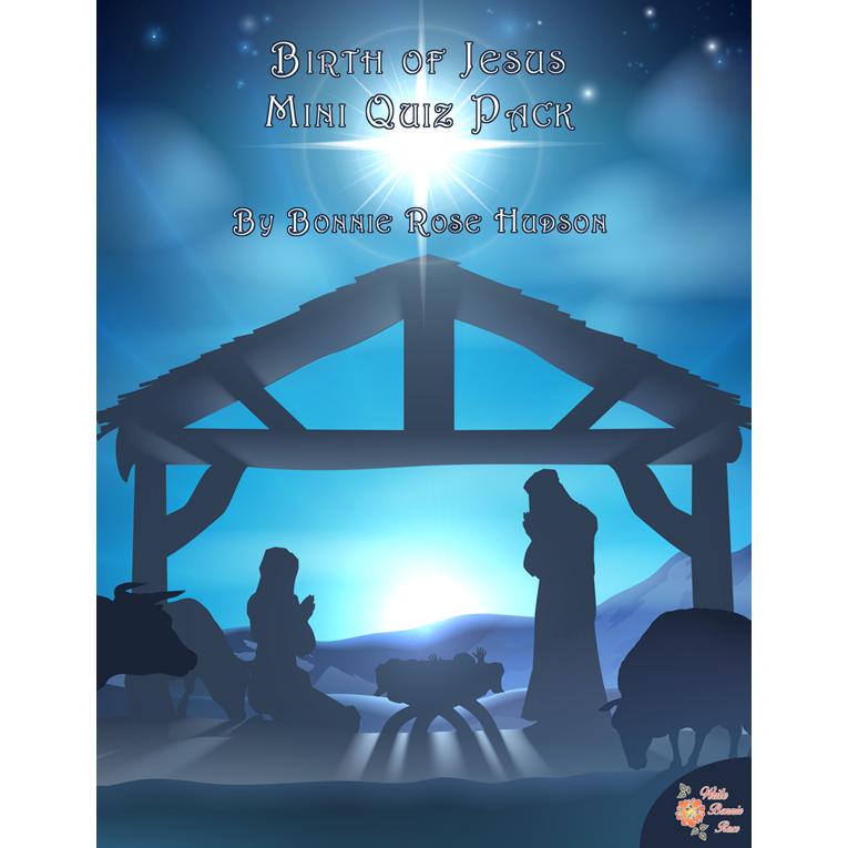Birth of Jesus Mini Quiz Pack (e-book)