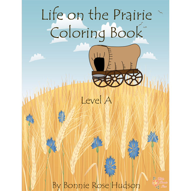 Life on the Prairie Coloring Book-Level A (e-book)