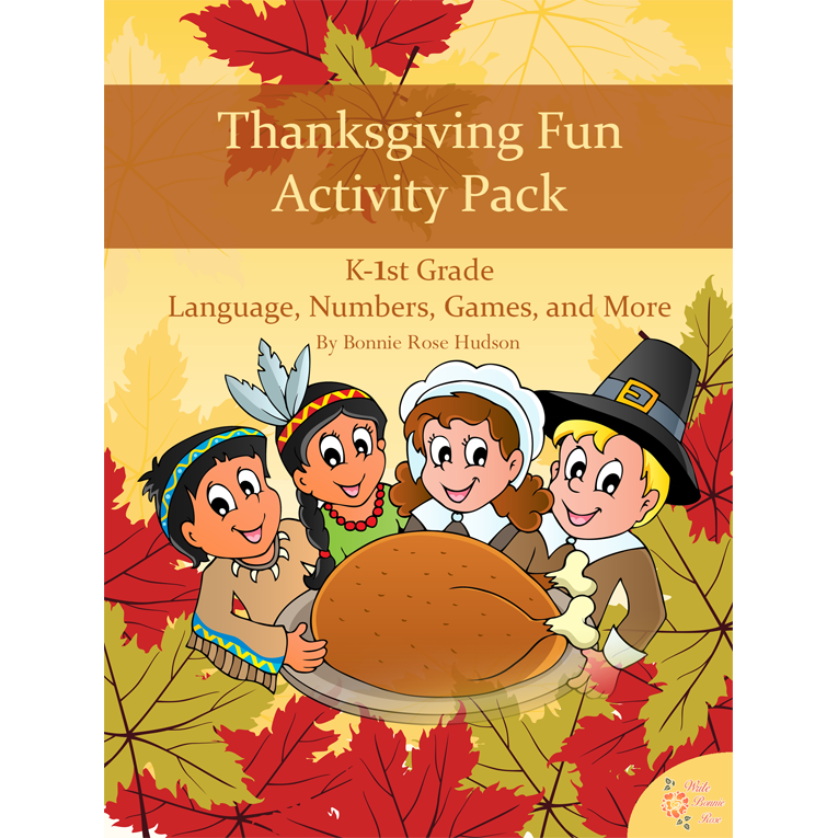 Thanksgiving Fun Activity Pack (e-book)