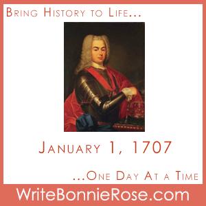 Timeline Worksheet: January 1, 1707, King John V of Portugal