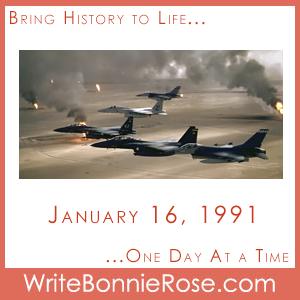Timeline Worksheet: January 16, 1991, Gulf War Begins