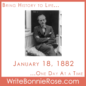 Timeline Worksheet: January 18, 1882, Birthday of A.A. Milne