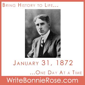 Timeline Worksheet: January 31, 1872, Birthday of Zane Grey