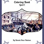 Boston Tea Party Coloring Book-Level C