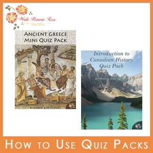 How to Use Quiz Packs in Your Homeschool
