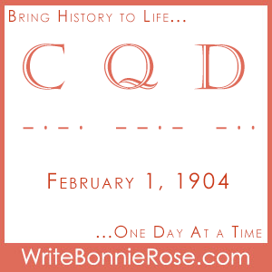 "Timeline Worksheet: February 1, 1904, Distress Signal ""CQD"" Is Established"