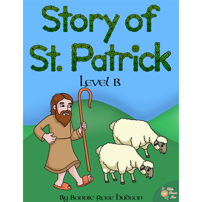 Story of St. Patrick Coloring Book—Level B (e-book)