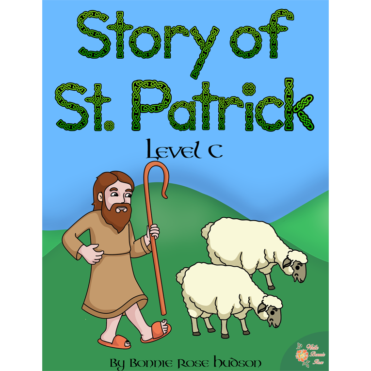 Story of St. Patrick Coloring Book—Level C (e-book)