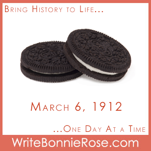 Timeline Worksheet: March 6, 1912, Oreo Cookies First Sold in Stores